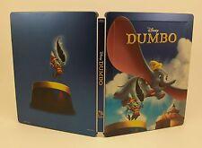 STEELBOOK Disney DUMBO Lightly Used Blu-Ray Region B & C