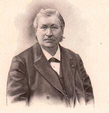 Portrait Nestor Gréhant Laon Aisne Physiologiste Physiologie Sciences Naturelles
