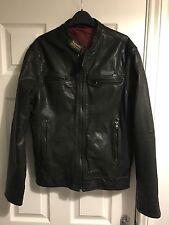 Superdry Waist Length Leather Biker Jackets for Men