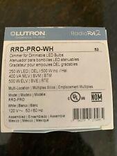 Lutron Radio Ra RRD-PRO-WH Dimmer White