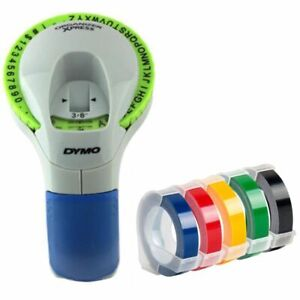 Manual Label Printers Dymo 1610 1540 C101 9mm 3d Embossing Tapes For Organizer