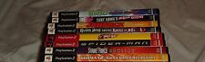 LOT OF (8) VARIOUS USED PLAY STATION 2 GAMES MULTI-TAP DDR GUITAR HERO TONY HAWK