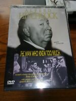 ALFRED HITCHCOCK THE MAN WHO KNEW TOO MUCH - DVD - NEW & SEALED!!