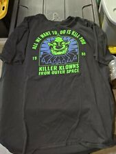 Killer Klowns from Outer Space Shirt XXL