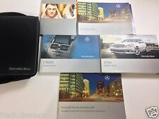 2009 Mercedes C-Class Owner's Manual Owner Book & Case