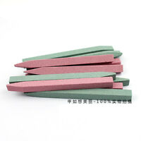 10pcs Durable Nail File Cuticle Remover Trimmer Stone Glass Buffer Nail Art Tool