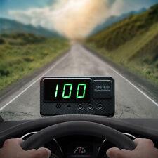 Universal Digital Car Auto GPS MPH/KM/h HUD Display Speedometer For Motorcycle J