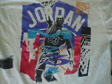 Vintage NIKE MICHAEL AIR JORDAN Chicago Bulls Gray Tag T shirt Size YOUTH L