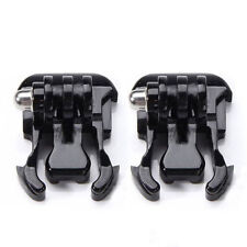 2x Quick Release Flat Buckle Clip Mount for Gopro Hero Session Sports Camera