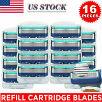 16 Pcs Replacements for Gillette Fusion Proglide Power Razor Blades Men's Gifts