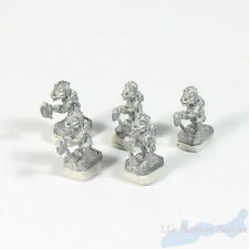 25mm Scale Lead Fantasy Role Play Lizard Man With Voulge Figures Set of 5