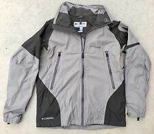 Mens Columbia OmniTech Titanium Interchange Waterproof Jacket Sz Large Tall