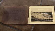 vintage Antique photo book Ricordo Di Siracusa