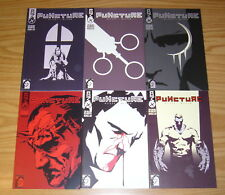 Puncture #1-6 VF/NM complete series 2001 COM.X russell uttley 2 3 4 5 ben oliver