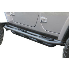 07-18 Jeep Wrangler JK 4 Door Running Boards Side Steps Rail Steps Rock Sliders