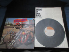 Byrds Ballad of Easy Rider Japan Vinyl LP in Unique Design Sleeve 1970 McGuinn