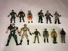 RANDOM Lot of 12 CHAP MEI Blue Box ELITE FORCE ROBOTIX Military Firemen Figures