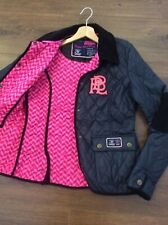 Women's Girls Navy Horse Riding Style Pauls Boutique Padded Jacket Coat Size: S