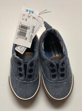 TODDLER BOYS KOALA KIDS SLIP ON CANVAS CASUAL SHOES SZ 5
