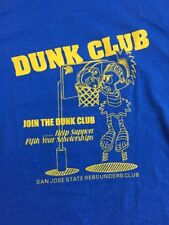 Vintage Dunk Club San Jose State Re Bounders Club Tee Shirt Size XLarge