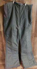 Euroski Pedigree Men Overalls Snow Ski Pants Bib Size 38 Gray