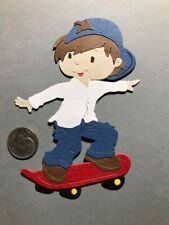 1 Skater Premade PAPER Die Cuts / Scrapbook & Card Making