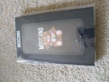 MOSCHINO Teddy Bear TOY Phone Case Cover iPhone 11 pro max.new.authetic