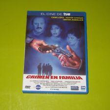 DVD.- CRIMEN EN FAMILIA - CHARO LOPEZ - AGUSTIN GONZALEZ - DESCATALOGADA