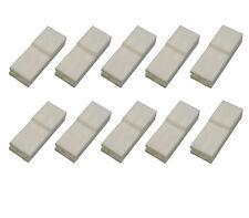 10x Gehäuse für Flachsteckhülsen 6,3x0,8, KFZ Elektrik LKW Wohnmobile