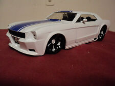 Jada  1965 Ford Mustang GT   1:24 Scale new  no box 2014 release white exterior