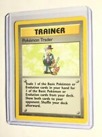 POKEMON TRADER - Base Set - 77/102 - Rare Trainer - Pokemon - Unlimited - NM