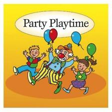PARTY PLAYTIME - FUN AND GAMES  CHILDREN'S MINT CD FREE POST IN UK