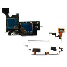 SIM MicroSD flex for Samsung N7100 Note 2 Galaxy memory card holder tray reader