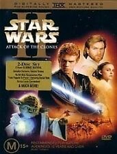 Star Wars - Episode II - Attack Of The Clones (DVD, 2002) - MINT