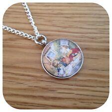 Alice in wonderland Mad hatter tea party necklace