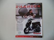 advertising Pubblicità 1999 MALAGUTI PHANTOM F12 100