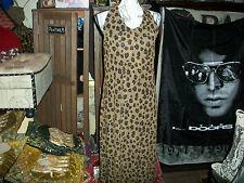 JESSICA HOWARD Sexy Leopard Halter Dress Size 14