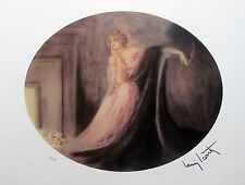 Louis Icart SAPHO Signed Limited Edition Giclee Art