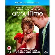 About Time (Blu-ray, 2014)SEALED, 1ST CLASS POST & DIGITAL ULTRAVIOLET FUNCTION