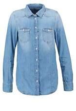 Pepe Jeans PERIWINKLE Damen Gr. S TWILL Hemdbluse Blau D447
