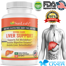 Milk Thistle Detox Liver Support Supplement & Colon Cleanse, Anti-Inflammatory