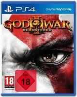 PS4 Spiel God of War 3 III Remastered NEU
