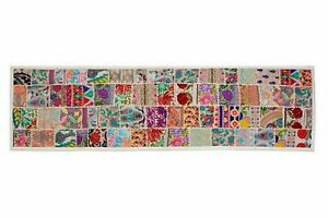 Indian Patchwork Dinning Table Decor Dining Room Decoration Vintage Table Runner