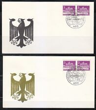 Germany Berlin 1970 covers Mi 231a Bochum,stamps exhibition