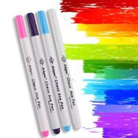 4pcs Markers Soluble Cross Stitch Tool Water Erasable Pen Ink Fabric Marking Pen