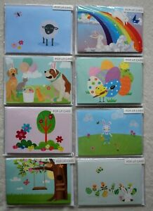 EASTER POP GREETINGS POP-UP 3D CARDS BUNNY SPRING CHICKEN EGGS CHOOSE YOURS