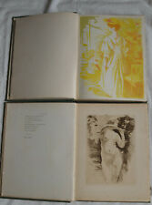 1896 Le Centaure 2 vol complet E.O PAUL VALERY lithographie gravures estampes