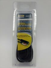 Metra - Universal 12' Antenna Extension Cable - Black