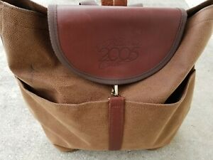 Cross Canvas Company Large Rucksack Backpack USA Made Gender Neutral Men Women