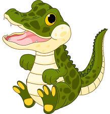 PREMIUM Autoaufkleber Baby Krokodil Kroko Kinder Auto Aufkleber LKW Sticker NEU
